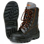 Stihl RANGER Leather Chain Saw Boots - UK Size: 8  (00008833442)
